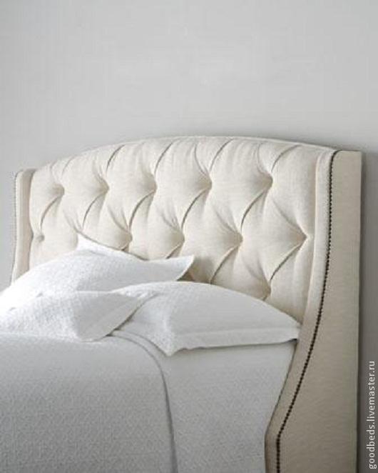 Мебель ручной работы. Ярмарка Мастеров - ручная работа. Купить Кровать  Оскар III. Handmade. Серый, мебель ручной работы