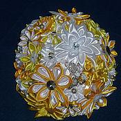 Свадебный салон ручной работы. Ярмарка Мастеров - ручная работа Желтый свадебный букет. Handmade.