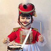 Куклы и игрушки ручной работы. Ярмарка Мастеров - ручная работа Барабанщица. Handmade.