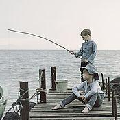 Одежда ручной работы. Ярмарка Мастеров - ручная работа Северное море. Handmade.