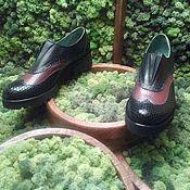 Обувь ручной работы. Ярмарка Мастеров - ручная работа Туфли Стиль. Handmade.