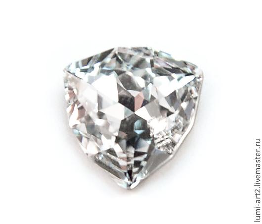 Для украшений ручной работы. Ярмарка Мастеров - ручная работа. Купить 12mm Trilliant Crystal 001 Кристаллы Триллиант стразы Сваровски. Handmade.