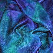 Аксессуары handmade. Livemaster - original item Purple emerald jacquard women`s stole scarf. Handmade.