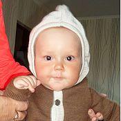 Работы для детей, ручной работы. Ярмарка Мастеров - ручная работа куртка-свитер для малыша. Handmade.