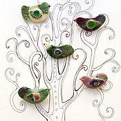 """Украшения ручной работы. Ярмарка Мастеров - ручная работа Броши """" Птички-невелички"""". Handmade."""