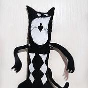 Мягкие игрушки ручной работы. Ярмарка Мастеров - ручная работа Чёрный Кот. Handmade.