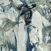 Картины и панно ручной работы. Ярмарка Мастеров - ручная работа Картина Туристы. Handmade.