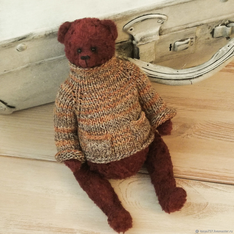 Teddy bear, 23 cm, Teddy Bears, Obninsk,  Фото №1