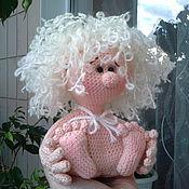 Куклы и игрушки handmade. Livemaster - original item Amurchik ) knitted toy, angel, Cupid, Cupid, toy, crochet,. Handmade.