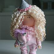 Куклы и игрушки handmade. Livemaster - original item Doll interior doll textile Doll made of fabric. Handmade.