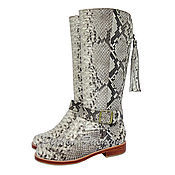 Обувь ручной работы handmade. Livemaster - original item Boots Python COUNTRY. Handmade.