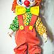 Коллекционные куклы ручной работы. Заказать Клоун Милашка!!!. Любовь Токарева (Tokareva1987). Ярмарка Мастеров. Клоуны, подарок подруге