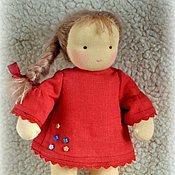 Куклы и игрушки ручной работы. Ярмарка Мастеров - ручная работа Вальдорфская кукла 25-30 см. Handmade.