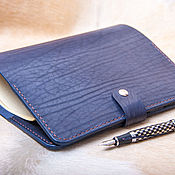 Канцелярские товары handmade. Livemaster - original item Notebook on rings with pockets A5 (21h14,5, )