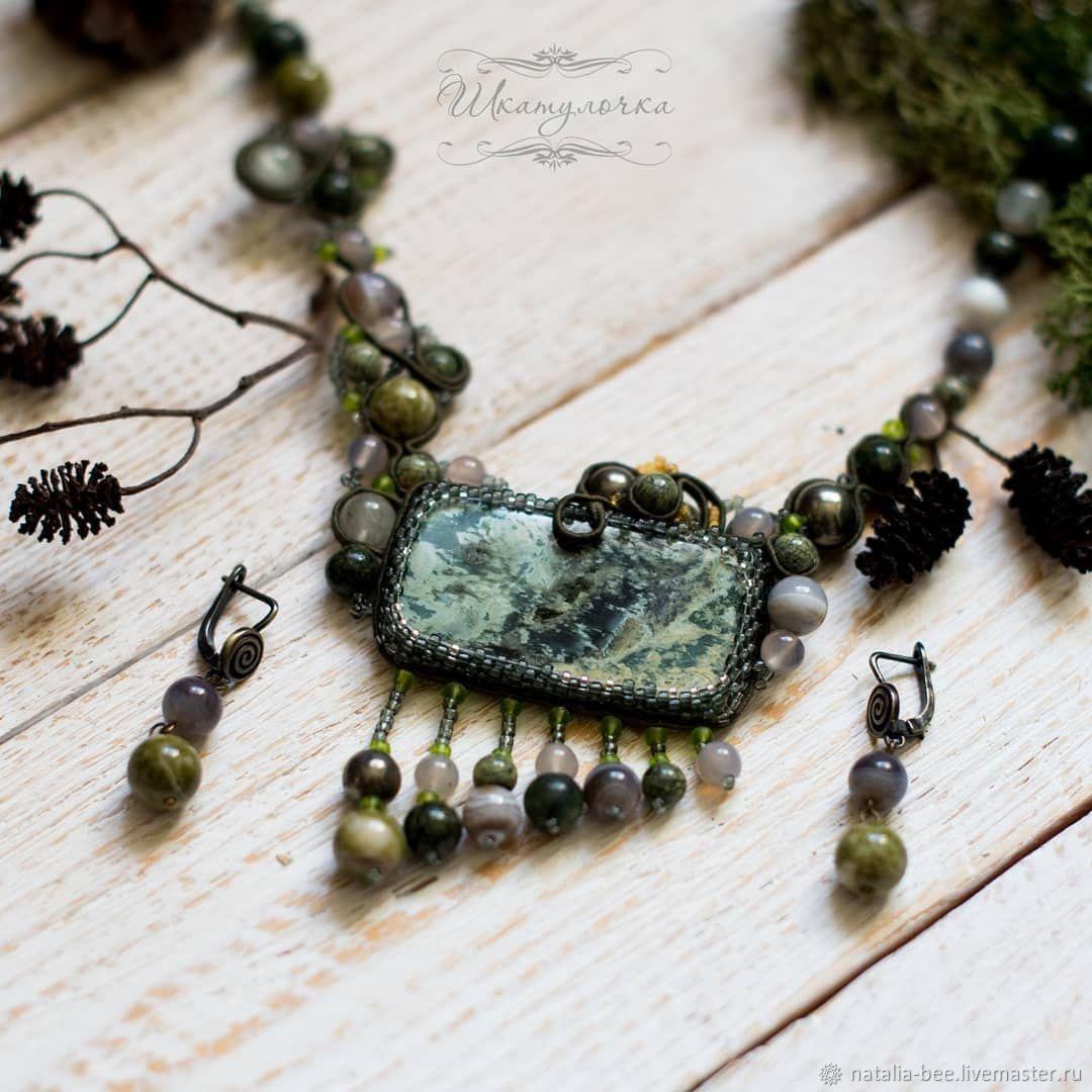"""Колье лесной феи"", Колье, Таганрог,  Фото №1"