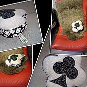 Для дома и интерьера handmade. Livemaster - original item CARDS-decorative pillows/cushion covers. Handmade.
