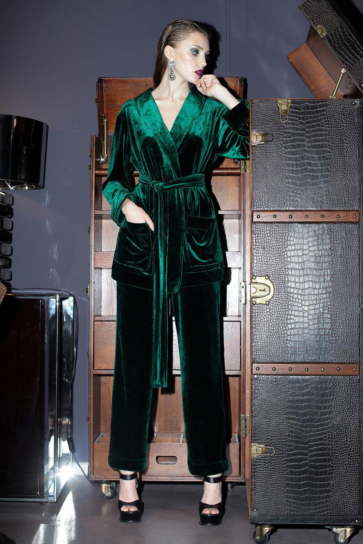 5926fbed9d1 Яна Левашова (yana-levashova Костюмы ручной работы. Заказать Бархатный  костюм шелковый пижамный стиль.