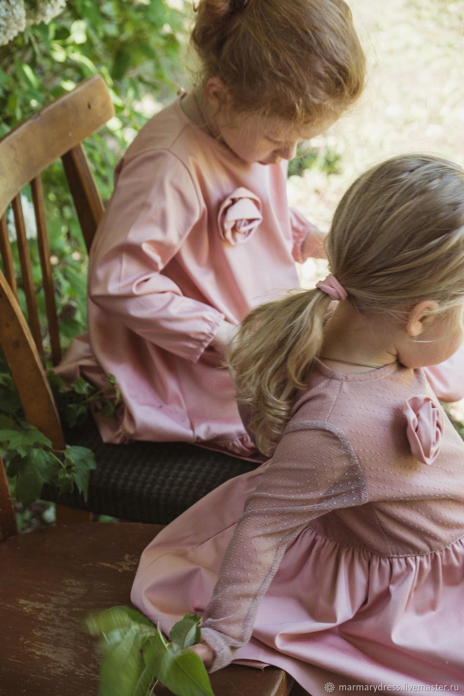 Платья ручной работы. Ярмарка Мастеров - ручная работа. Купить Платье 'Арабис'. Handmade. Фотосессия, платье для малышки