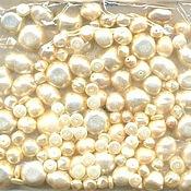 Материалы для творчества handmade. Livemaster - original item 20g Mix Creme 270 Czech beads Preciosa. Handmade.