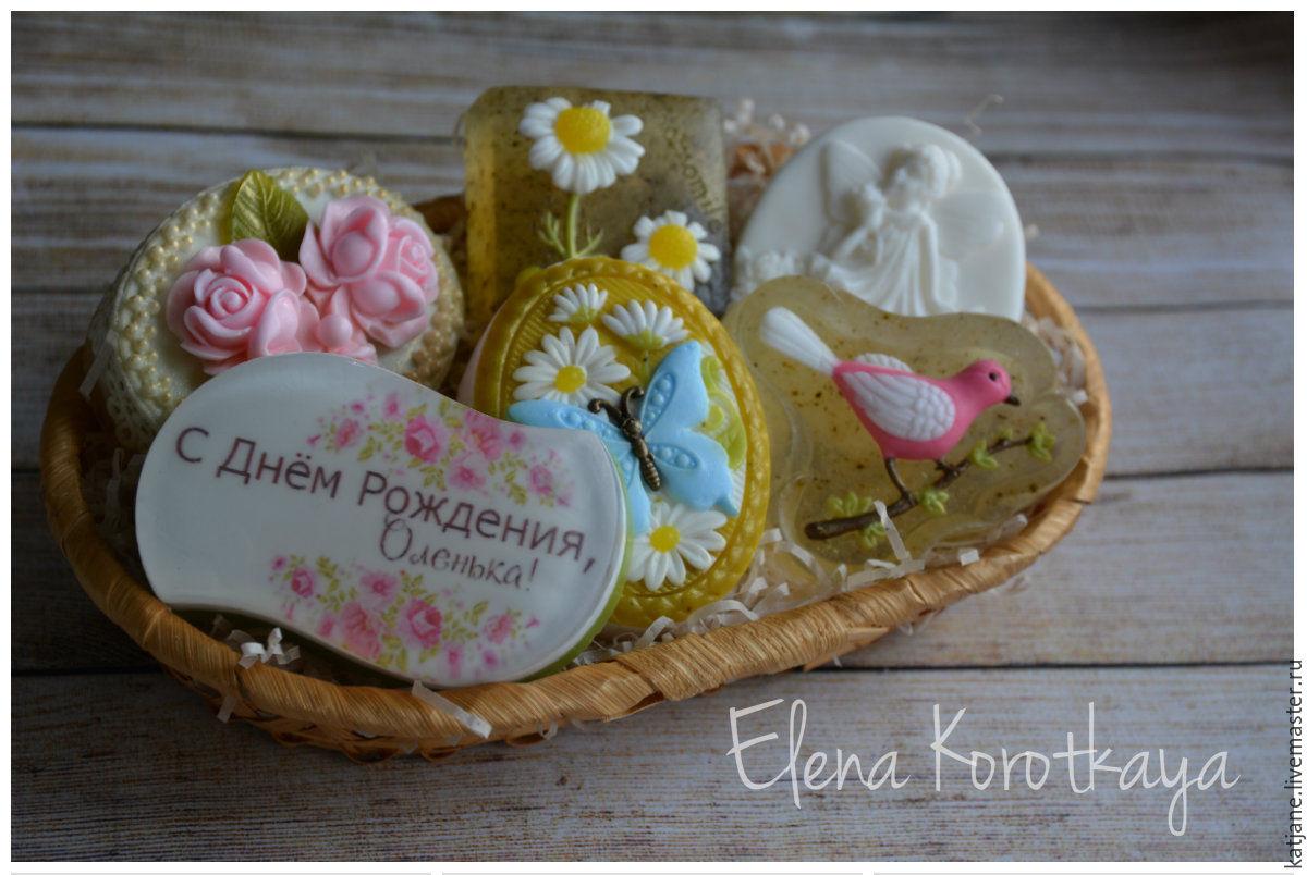 """""""С Днем Рождения!"""" Набор мыла ручной работы, Мыло, Москва, Фото №1"""