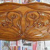 Для дома и интерьера ручной работы. Ярмарка Мастеров - ручная работа Накладка над дверным проемом. Handmade.