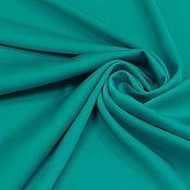Ткани ручной работы. Ярмарка Мастеров - ручная работа ткань шелк иск . морская волна    со стрейчем. Handmade.