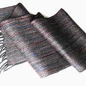 """Аксессуары handmade. Livemaster - original item Шарф мужской валяный """"Этна-5"""". Handmade."""