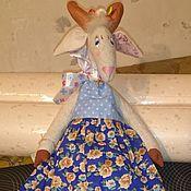 Куклы и игрушки ручной работы. Ярмарка Мастеров - ручная работа Козочка. Handmade.