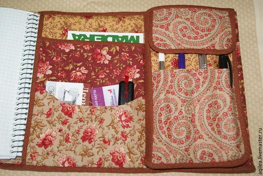 Органайзеры для сумок ручной работы. Ярмарка Мастеров - ручная работа. Купить органайзер. Handmade. Коричневый, папка-органайзер