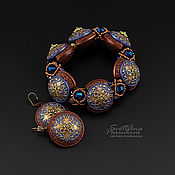 Украшения handmade. Livemaster - original item Atlantis jewelry set (691) handmade by the author. Handmade.