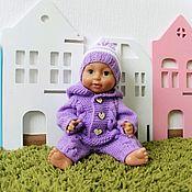 Куклы и игрушки handmade. Livemaster - original item Clothes for babies, overalls for baby born. Handmade.