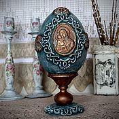 Подарки к праздникам handmade. Livemaster - original item Easter egg interior decorative large. Handmade.