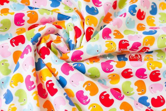 """Пледы и одеяла ручной работы. Ярмарка Мастеров - ручная работа. Купить Детское одеялко в кроватку или коляску """"Слоники"""". Handmade."""