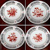 Винтаж handmade. Livemaster - original item Plates