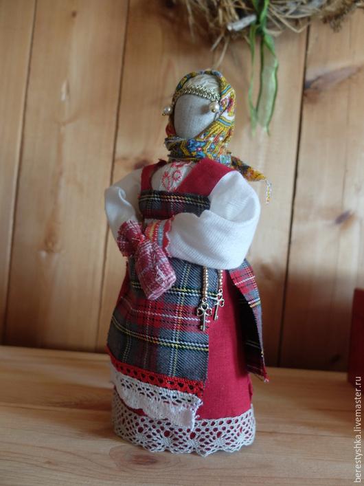 Народные куклы ручной работы. Ярмарка Мастеров - ручная работа. Купить Хозяюшка. Handmade. Подарок для дома, хозяйка дома