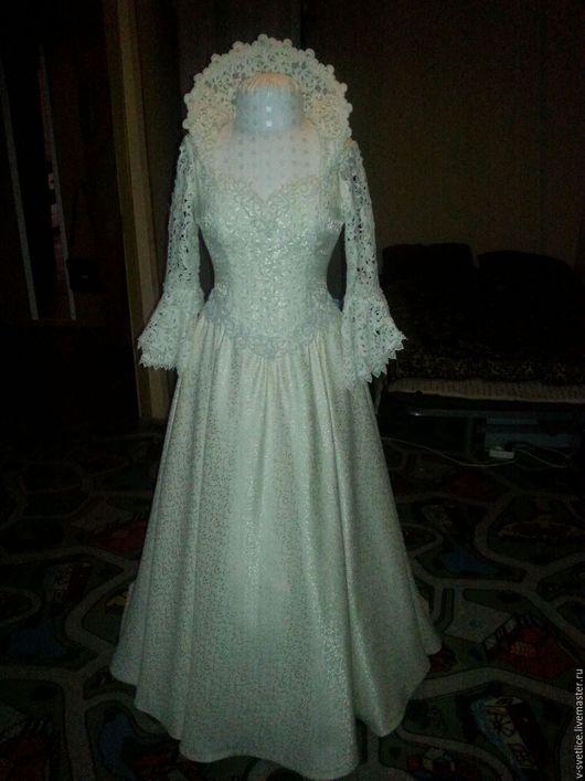 Одежда и аксессуары ручной работы. Ярмарка Мастеров - ручная работа. Купить неповторимое свадебное платье. Handmade. Свадебное платье, невеста