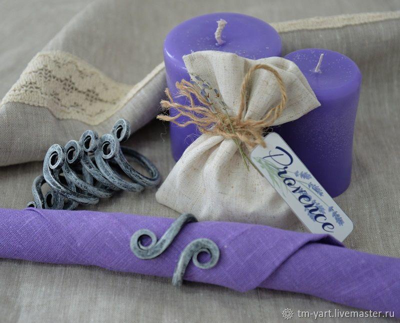 A set of wrought iron napkin rings, Utensils, Barnaul,  Фото №1