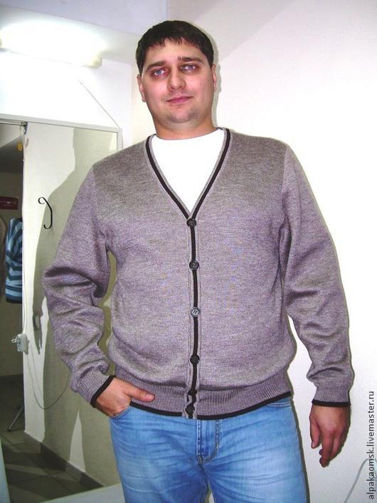 Для мужчин, ручной работы. Ярмарка Мастеров - ручная работа. Купить свитер мужской. Handmade. В полоску