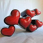 Комодик сердечки