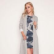 Платье и кардиган из шерсти 35138