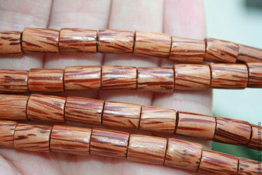Для украшений ручной работы. Ярмарка Мастеров - ручная работа. Купить Пальмовое дерево, цилиндр 10 мм. Handmade.