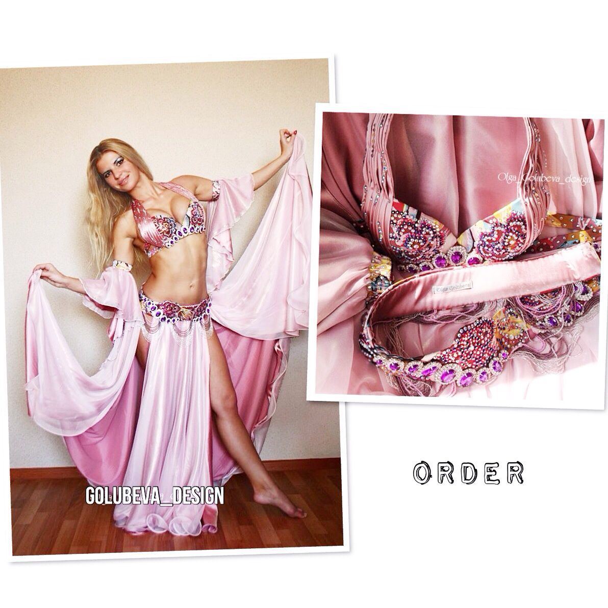 """Costume for bellydance """"Pretty rose"""", Suits, St. Petersburg,  Фото №1"""