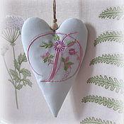 Для дома и интерьера handmade. Livemaster - original item Interior elements: Tilda Hearts with letters. Handmade.