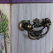 Для дома и интерьера ручной работы. Ярмарка Мастеров - ручная работа короб лаванда и прованс. Handmade.