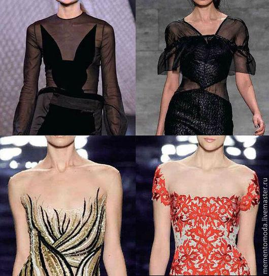 Вариантов для использования сетки множество!\r\nВот так ее можно использовать в вечернем платье.