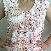 Одежда ручной работы. Ярмарка Мастеров - ручная работа Нежность роз. Handmade.
