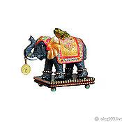 Статуэтки ручной работы. Ярмарка Мастеров - ручная работа Слон богатства  и удачи. Handmade.
