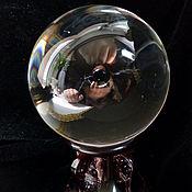 Фен-шуй и эзотерика ручной работы. Ярмарка Мастеров - ручная работа Шар из прозрачного стекла Магия света  58 мм. Handmade.