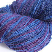 KAUNI Artistic Yarn Blue Lila 8/2