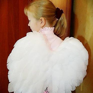 Сувениры и подарки ручной работы. Ярмарка Мастеров - ручная работа Крылья ангела  VIII для годовасиков. Handmade.